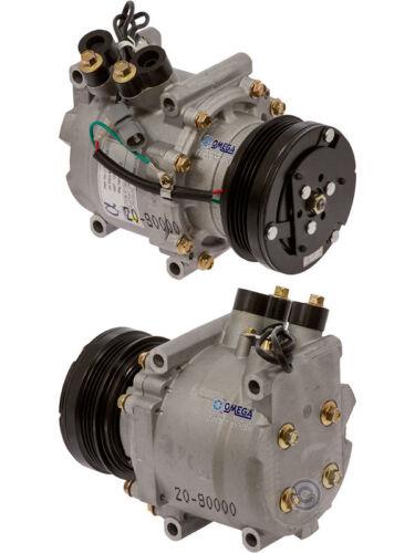 NEW A//C Compressor Fits 92-93 Honda Civic L4 1.5L 1.6L//93 Civic Del Sol Si 1.6L