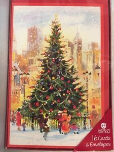 American greetings christmas holiday cards envelopes xmas tree image is loading american greetings christmas holiday cards amp envelopes xmas m4hsunfo