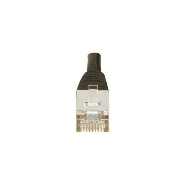 Générique Cordon patch RJ45 F/UTP  CAT6 noir - 5m