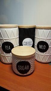 Kitchen-Labels-Tea-Coffee-Sugar-and-Milo