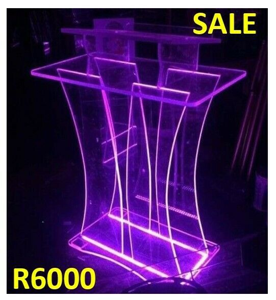 LED Butterfly Multicolored Podium
