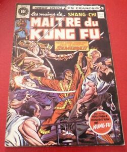 Soft-Cover-French-Heritage-Comic-Maitre-du-Kung-Fu-No-8