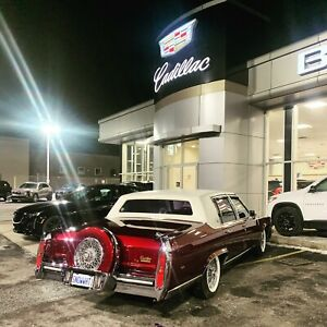 1988 Cadillac brougham d' elegance for trade obo