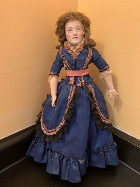 15 1/2 Inch French Lady Doll Limoges Lorraine