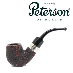 NEW-Peterson-Donegal-Rocky-Bent-Briar-Pipe-221-Fishtail