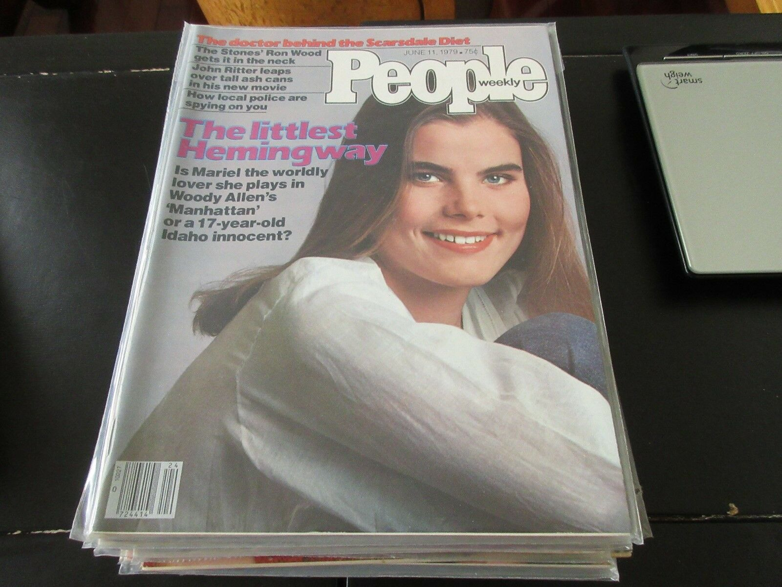 People Weekly , June 11 ,1979 , Mariel Hemingway , Scar