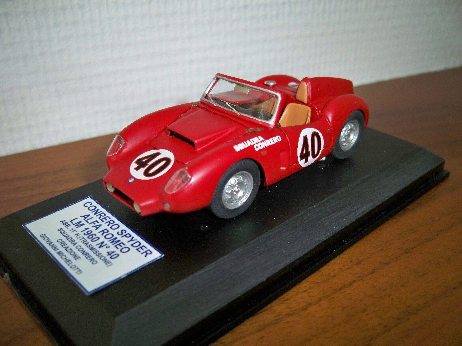 1 43 Alfa Romeo Giulietta SV CONRERO Le Mans '60  40 Home made by KIT ALM
