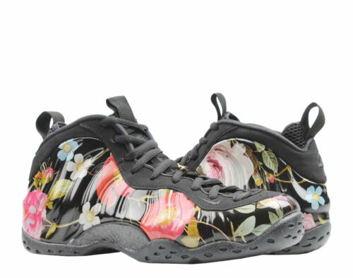 Nike Air Foamposite One Black//White Floral Men/'s Basketball Shoes 314996-012