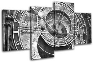 Prague-Astronomical-Clock-Czech-City-MULTI-CANVAS-WALL-ART-Picture-Print