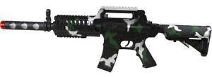 Kombat-Kids-Toy-Electronic-Plastic-Army-Soldiers-M16-Play-Toy-Gun-w-Light-Sound