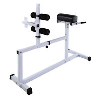 Goplus Fitness Hyper Extension Hyperextension Bench Chair Workout Core Abdominal on sale