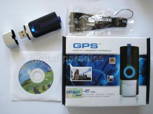 XXL Zubehör USB GPS Empfänger Data Logger Akku 17 Std Datenlogger GT-730FL-S