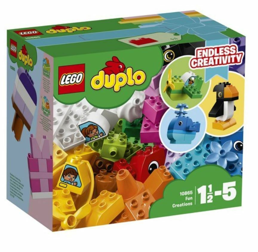 [LEGO] Duplo 10865 Creative Play Fun Creations 2018 Version Free Shipping