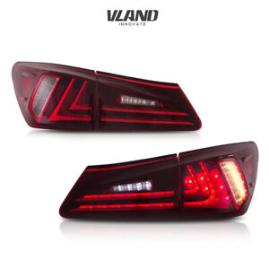 VLAND Tail Light For LEXUS IS250 350 ISF 2006-2012 LED Projector Assembly