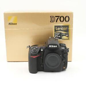 Nikon-D700-12-1-Mpx-Fotocamera-DSLR-Nera-Solo-Corpo-NITAL