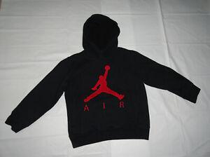 Air-Jordan-Boys-Hooded-Sweatshirt-Size-6-Color-Black