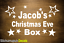 Christmas Eve Box Personalised Vinyl Name Sticker Decal Kids gift 18 Colours