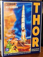 Glencoe Thor Icbm Rocket With Crew And Launch Pad Model Kit 1/87