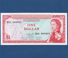 EAST CARIBBEAN STATES 1 Dollar (1965) UNC P.13 g