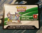 1X Pokemon TCG Charizard EX Box Code Unused sent via EBay mail