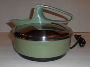 Vintage Toasters Electric Avocado Green Kettle 1500w Made