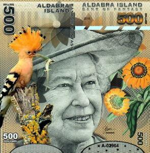 ALDABRA - Isola delle Seychelles 500 dollars 2018 Polymer FDS UNC