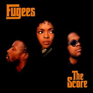 ad89eb5c237 Fugees THE SCORE Limited Edition COLUMBIA RECORDS New Orange Colored ...
