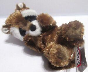 Douglas Lil Handful Raccoon 6 Plush Stuffed Animal Forest Baby