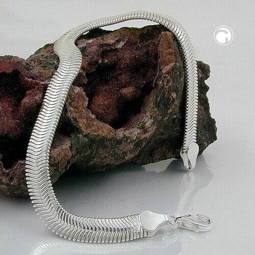 6x2mm Catena Serpente Catena Catena Catena Collana Collier piatta argentoo 925 42cm da donna c7d038
