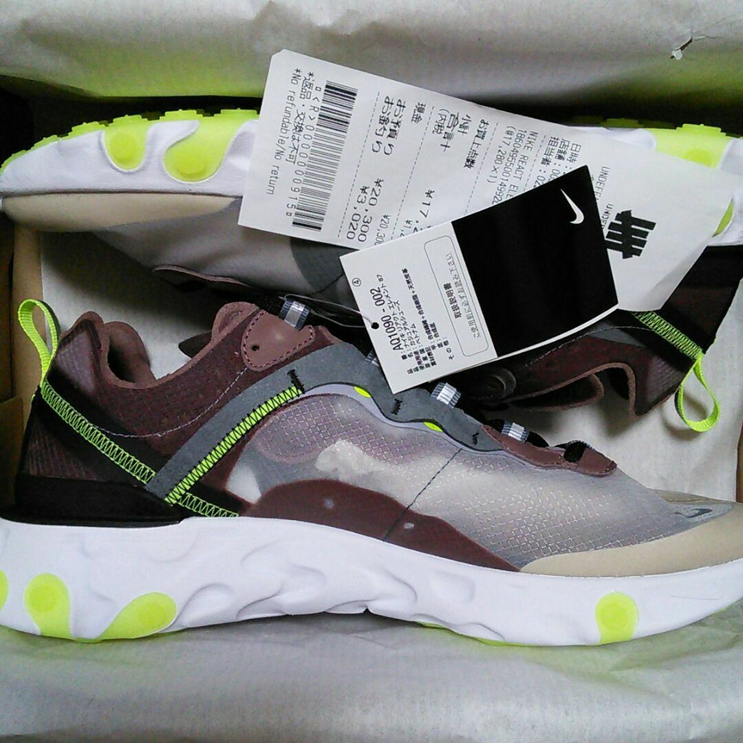 Nike REACT element 29cm React Element 87 from japan (2570