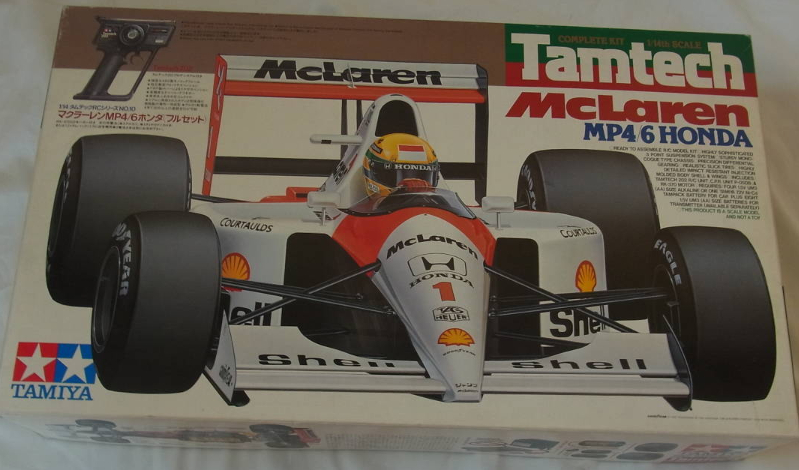 TAMIYA 1 14 Tamtech RC McLaren MP4 6 Honda  Full Set modellololo Kit from Japan F S  in vendita online