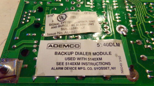 NEW Ademco 5140 Honeywell DLM Phone Dialer Backup Module For Fire Alarm