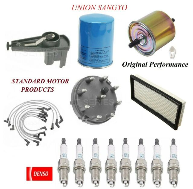 Tune Up Kit Filters Wire Spark Plugs For Ford E