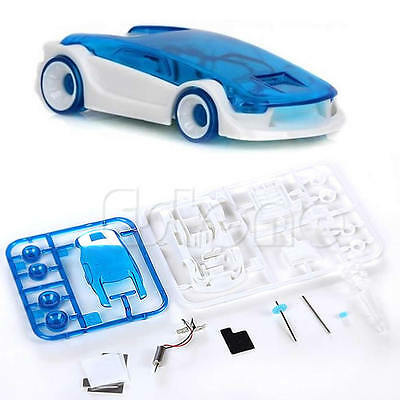 Brand New DIY Kits Green Energy Funny Toys Salt Water Fuel Cell Car Set HOT