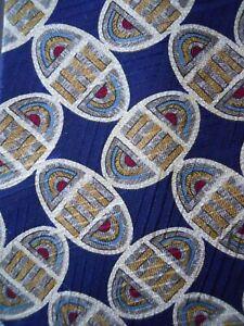 Claiborne-Tie-Multi-Colored-Patterned-Oval-Egg-Print-Mens-Necktie