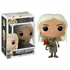 GAME OF THRONES DAENERYS TARGARYEN FIGURE VINYL POP FUNKO TRONO DI SPADE STARK 1