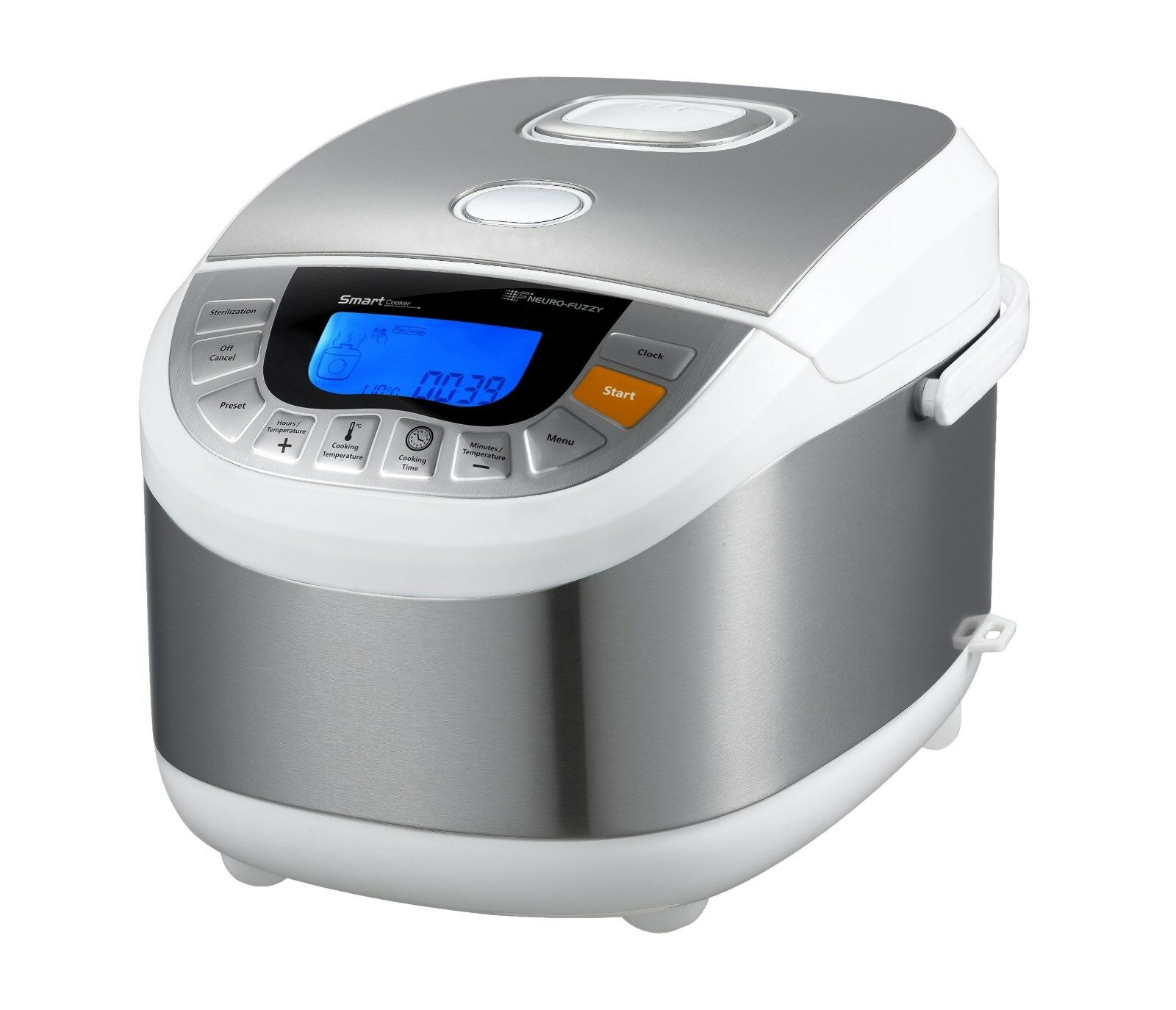 Multivarka 10 Tasse 3D chauffage par induction étroites Robot Chef 65 programmes 110 V