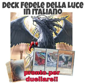 Yu-Gi-Oh-Deck-FEDELE-DELLA-LUCE-Mazzo-Completo-40-carte-EXTRA-DECK-MYDECK