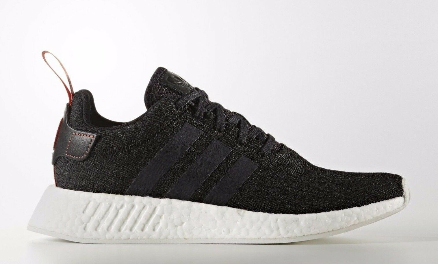 a26a99e36b5adc Mens adidas NMD R2 Core Black Future Harvest White Cg3384 US 8.5 for ...