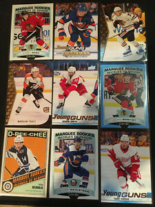 2019-20-Upper-Deck-Young-Guns-UD-Portraits-Canvas-You-Pick-Card-NHL-RC-BZ