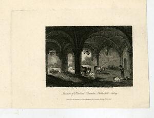 c1810-Kirkstall-Abbey-Vaulted-Chamber