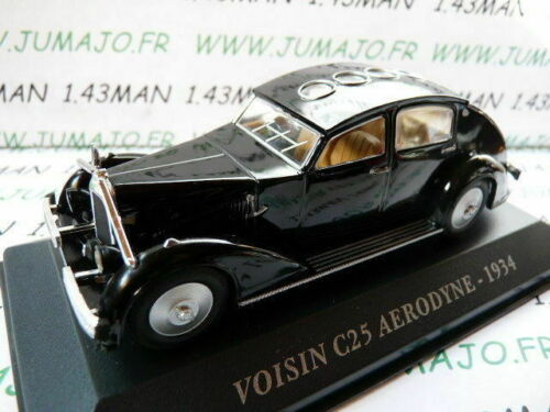 AUT23M Voiture 1//43 IXO altaya Voitures d/'autrefois VOISIN C25 Aérodyne 1934