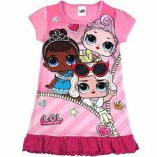 LOL Surprise Nachthemd Freizeitkleid l.o.l. für Kinder Mädchen 4-10 Jahre 98-140