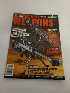 Barrett-Tactical-Weapons-Magazine-2007-Annual-Cover-Supreme-50-Power-EUC