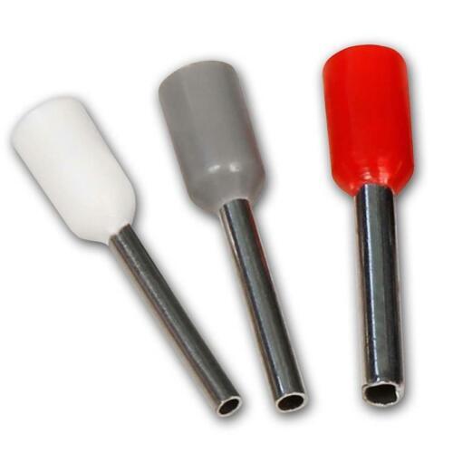 400er Set Presshülsen Aderendhülsen-Sortiment für 0,5-2,5mm² Kabel isoliert