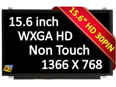 BRIGHTFOCAL New Screen for Lenovo Ideapad 110-15ACL 80TJ00LRUS 15.6 WXGA Slim HD LED LCD Replacement LCD Screen Display
