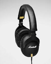 2017 Original Marshall MONITOR Over-Ear Headphones w/ Microphone Black