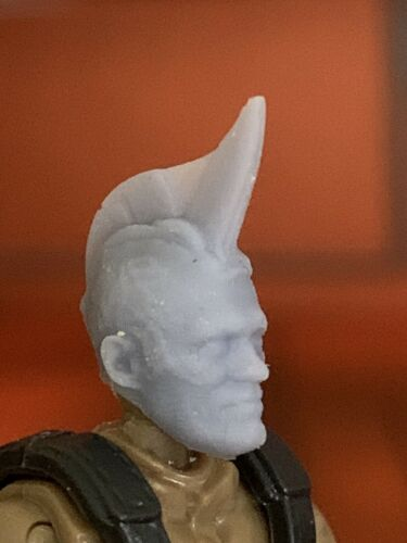 Mega construx Custom Head Yondu GOTG2 Prototype Fin