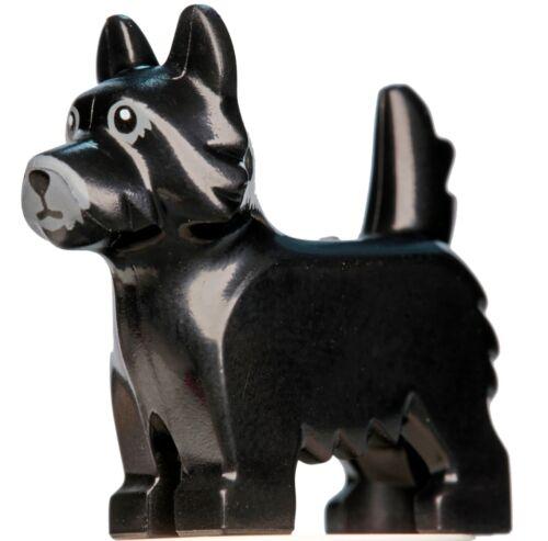 NEW LEGO Land Animal Dog Terrier Scottish Black x 1 Build-A-Minifigure