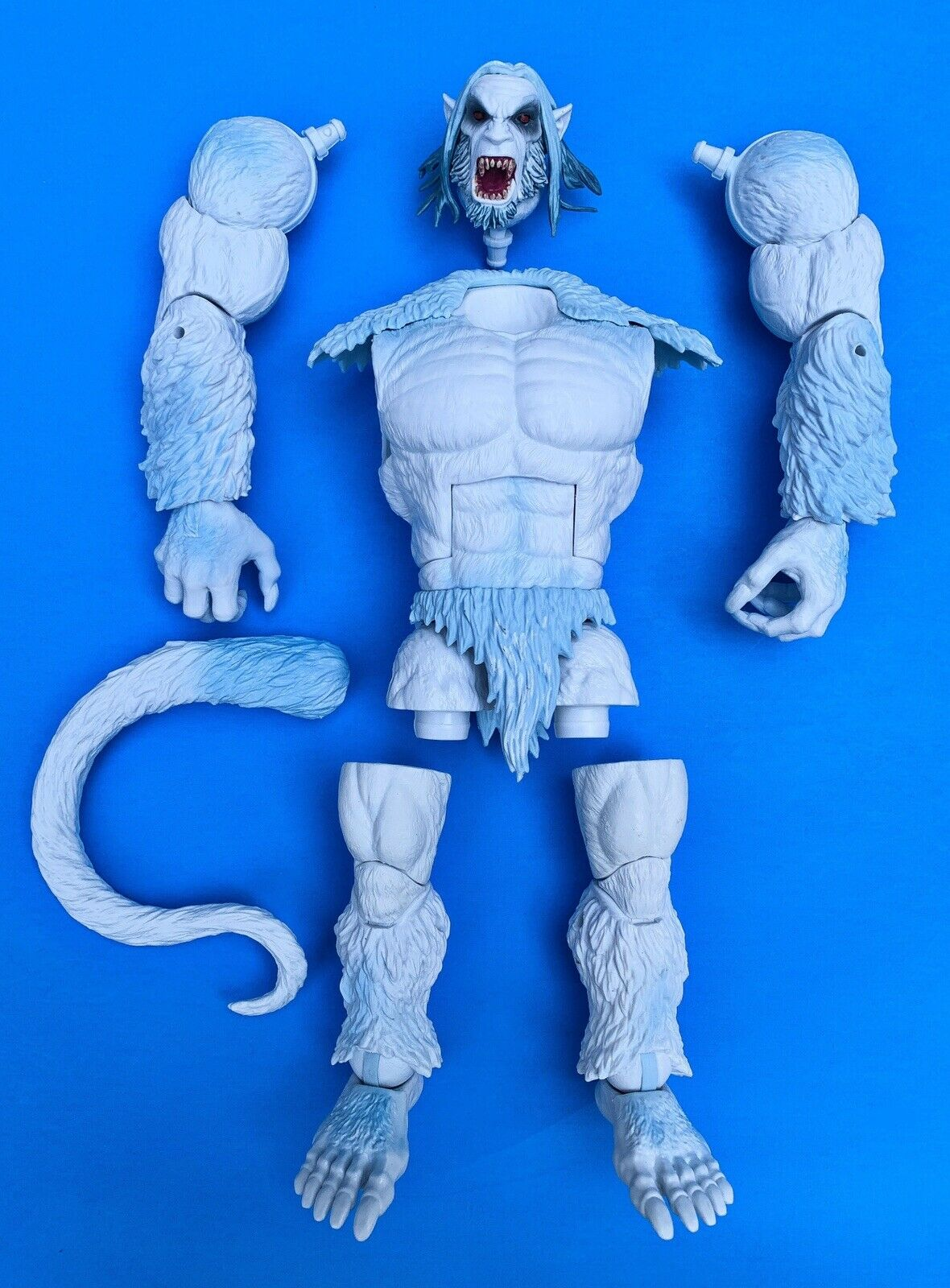Marvel Legends WENDIGO Complete BAF Build A Figure X-Sie - Unassembled Mint